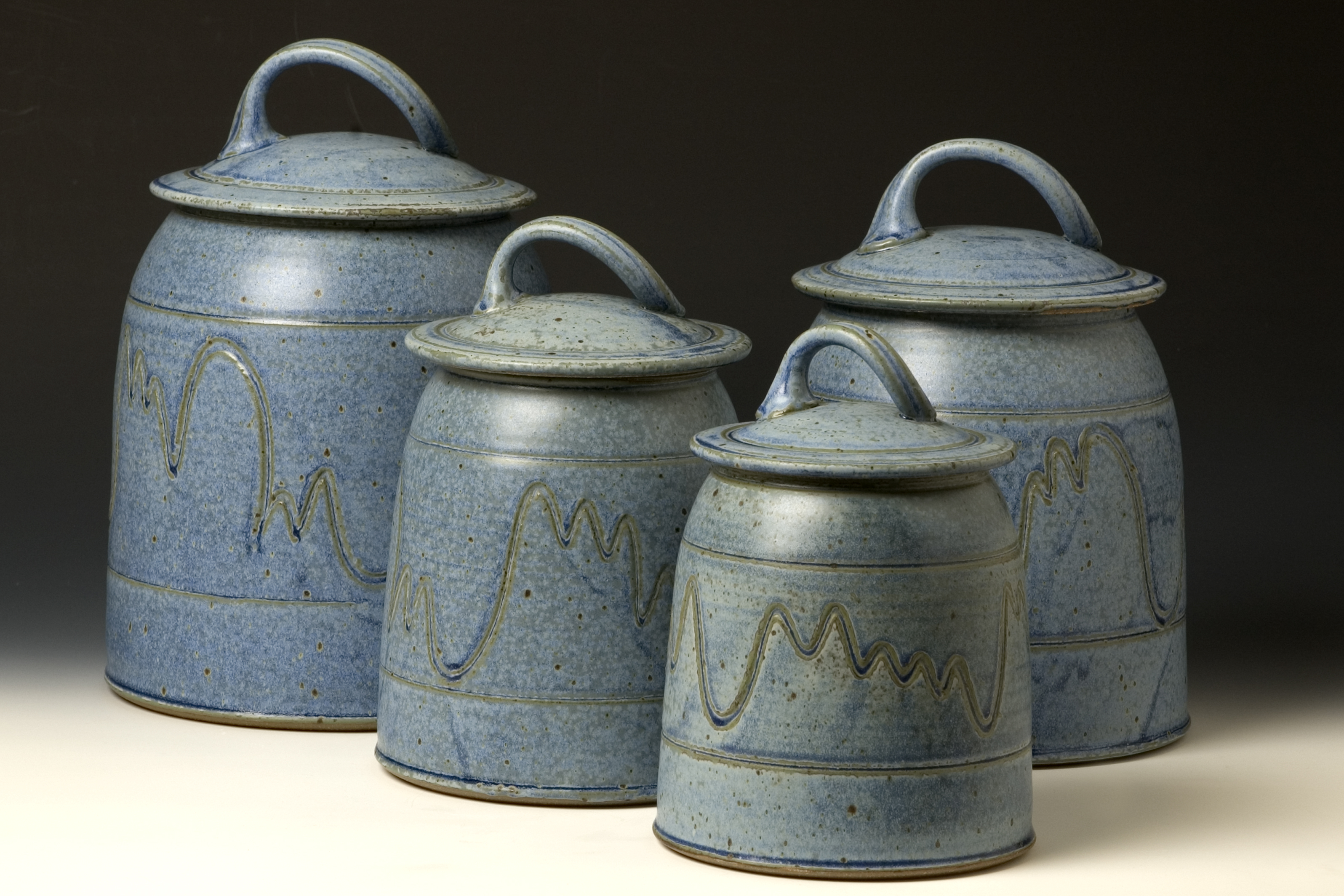 pottery kitchen canister sets quail run pottery canister set western kitchen pinterest 976